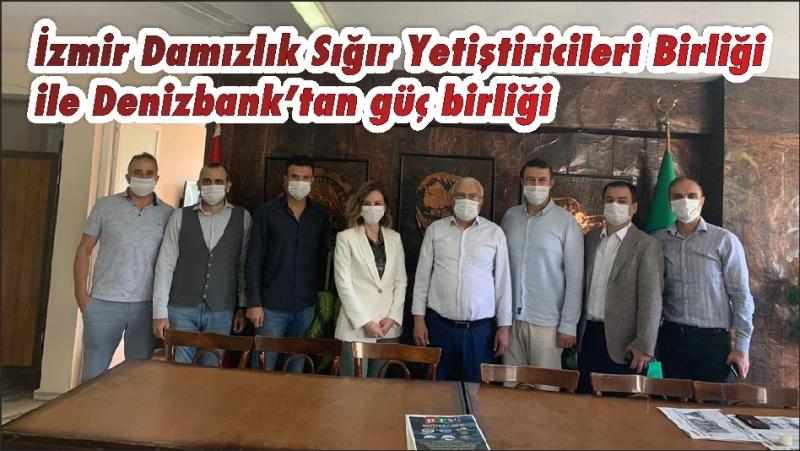 İzmir Damızlık Sığır Yetiştiricileri Birliği ile Denizbank'tan güç birliği