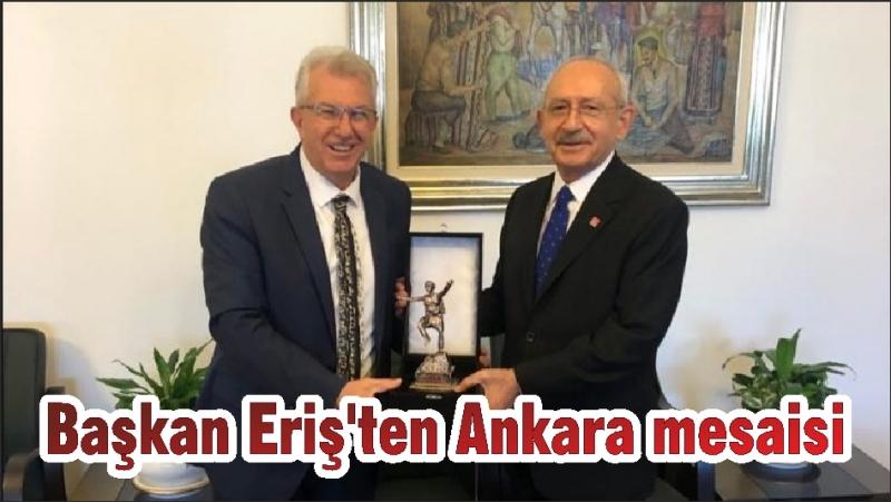 Başkan Eriş'ten Ankara mesaisi