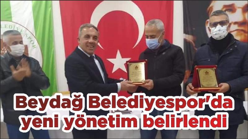 Beydağ Belediyespor'da yeni yönetim belirlendi