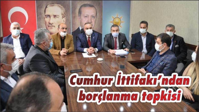 Cumhur İttifakı'ndan borçlanma tepkisi