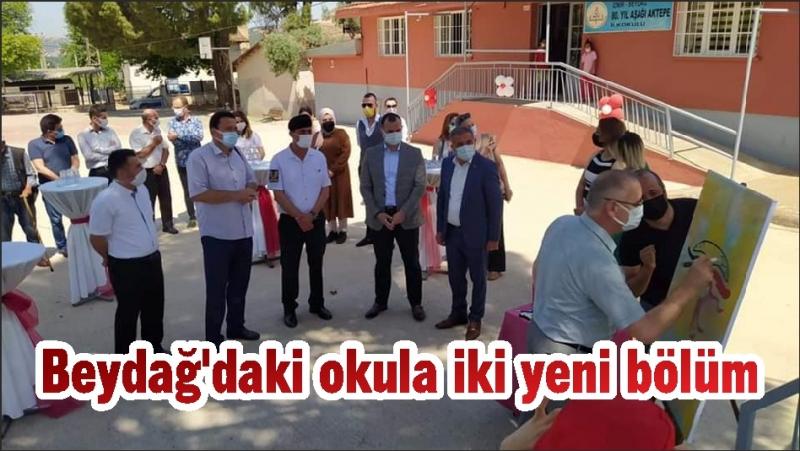 Beydağ'daki okula iki yeni bölüm