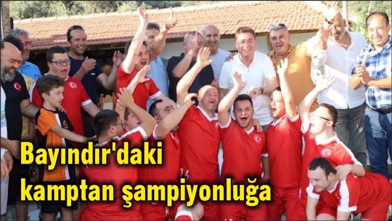 Bayındır'daki kamptan şampiyonluğa
