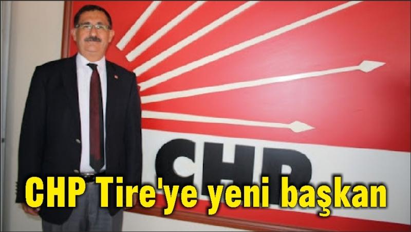 CHP Tire'ye yeni başkan