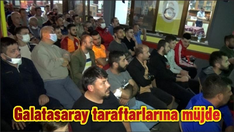 Galatasaray taraftarlarına müjde